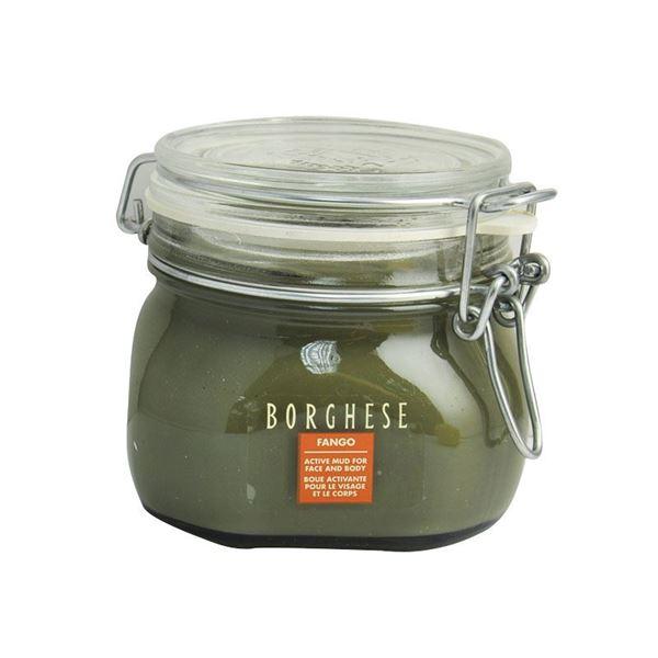 图片 BORGHESE--矿物营养泥浆紧致面膜(黑泥/深绿泥)