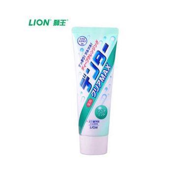 图片 日本 LION狮王 綠色 薄荷味 粒子洁净美白牙膏 140g
