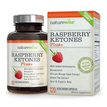 图片 美国naturewise减肥瘦身胶囊树莓提取物和覆盆子酮120粒