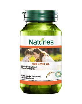 图片 保税区 Naturies 奈氏力斯 鳕鱼肝油胶囊 60粒/瓶